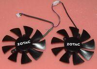 OEM New Zotac GTX1070 MINI GTECOTHERM GFY09010E12SPA Graphics Card Cooling Fan