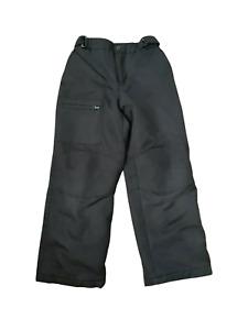 Swiss Tech Youth Boys Pants Snow Ski Black Pants Size Medium M 7/8