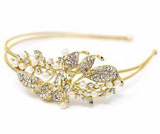 Wedding Rhinestones Metal Head Jewelry Headband Head Piece Hair Band