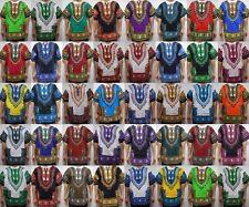 African Dashiki Blouse Mens Womens Shirts Hippie 12 pieces Mix Colors WHOLESALE