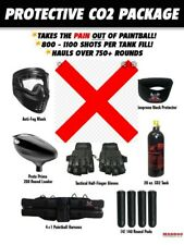 Maddog Protective Co2 Paintball Gun Accessory Package B Face Mask, Tank(No Vest)