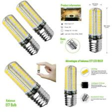 Kakanuo E17 LED Bulb Microwave Oven Light Dimmable 5 Watt E17, Warm White