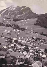Amden mit Leistkamm, Echtofot-AK 1953