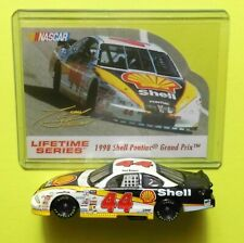 NASCAR Lifetime Series TONY STEWART 1998 #44 SHELL Pontiac w /Card -GUC