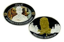 CHARLES LINDBERGH 40TH ANNIVERSARY COMMEMORATIVE COIN VALUE $129