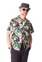 FINE49 retro Hawaii Blüten Coconut Hemd Rockabilly 50s Kahekili Hawaiian Shirt