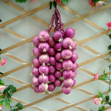 UK Artificial Onion Plastic Fake Vegetable Party Kitchen Decor Photography Props