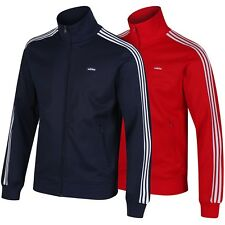 adidas ORIGINALS BECKENBAUER OG TRACK TOP RED BLUE 3 STRIPES S M L XL CLASSIC
