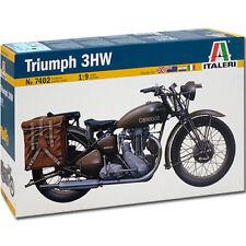 ITALERI Triumph Motorbike 7402 1:9 Bike Model Kit