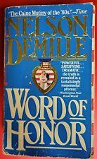 NELSON DEMILLE WORD OF HONOR PAPERBACK, Warner Books 1987