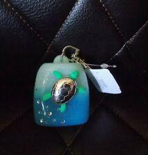 Bath & Body Works Pocketbac Holder Swimming Sea Turtle Jewels & Glitter Design