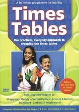 Helping Children's Learning Maths Times Tables DVD NEW