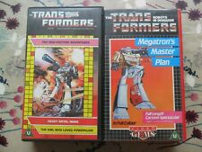 Transformers Heavy Metal Wars The Girl Who Loved Powerglide Megatron Master VHS