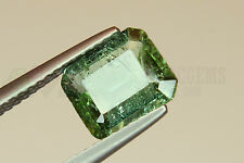 Indicolite Tourmaline Octagon 1.75ct 8.5x7mm Loose Natural Gemstone Afghanistan