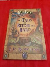 JK Rowling Harry Potter The Tales of Beedle the Bard FIRST EDITION 2008
