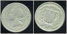 REPUBLIQUE DOMINICAINE 5 centavos  1937