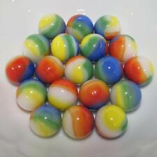 "Marble King Twenty 5/8"" (16mm) Beach Ball Glass Marbles 99360195"