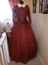 Civil War Reenactment Day Dress Size 10