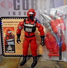 GI JOE ~ 2010 RED TORCHES ~ RED SHADOWS PYRO-TROOPER ~ VACATION IN THE SHADOWS