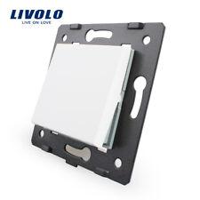 Livolo 45mm*45mm Eu White One Way Function Key For Wall Push Button Switch