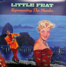 LITTLE FEAT POSTER, REPRESENTING THE MAMBO (SQ22)