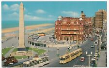 Blackpool; Cenotaph & Butlin's Metropole Hotel PPC, By John Hinde, Unposted