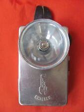 Vintage Soviet metal flashlight VITEBSK USSR 1960's