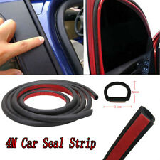 "157"" 4M D Shape Car Auto Door Rubber Edge Trim Sealing Strip Seal Weatherstrip"
