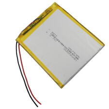 3.7V 3000 mAh Rechargeable Polymer Lipo Li Battery For GPS iPod Tablet PC 357595