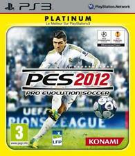 Pro Evolution Soccer 2012 PS3 VERY GOOD CONDITION ORIGINAL GAME CASE WITH MANUAL