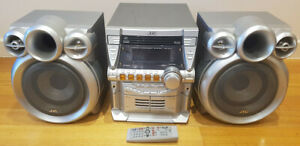 JVC MX-KC4 Compact Component Stereo System
