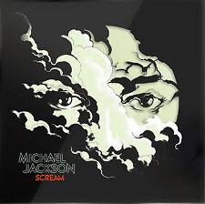 Michael Jackson LP X 2 Scream Glow in The Dark Marbled Vinyl 2017