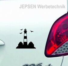 Westerhever Leuchtturm Autoaufkleber 10cm S049C Farbwahl Aufkleber Tattoo