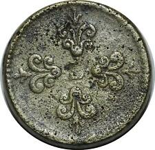 O1143 RARE Poids monétaire Louis XIII 1610-1643 Franc ->Faire offre