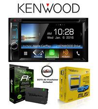 Kenwood Ddx6903S Dvd Receiver Ads Mus1 Mustang Kit Ads-Mrr Steering Wheel Volume