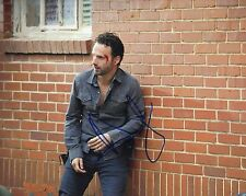 Andrew Lincoln Signed 10X8 Photo Walking Dead GENUINE SIGNATURE AFTAL COA (5606)
