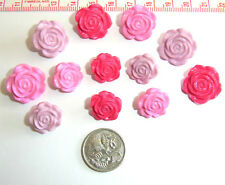 Novelty Buttons Embellishments Flowers Roses # 596