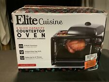 Rotisserie Grill Electric Roaster Oven Convection Toaster Kitchen Appliance NEW