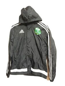 Adidas YOUTH LARGE 13/14 Yrs Hooded mesh lined WaterResistant Jacket Timbers(#j3