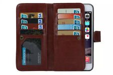 Card Pocket Wallet KickStand Starp Magnetic Leather Case Cover For iPhone 6S