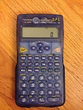 Sharp EL-531V DAL Advanced Scientific Calculator with Case - Blue