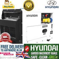 Hyundai 6 KVA 5.2kW Silenced Diesel Generator - Hyundai UK - DHY6000SE