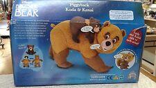 Disneys Brother Bear Piggyback Koda & Kenai talkin,fun