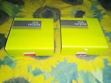 CARPISA set 2 portafogli porta carte di credito porta tessere in pelle