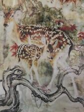 Rectangle Animal Print 100% Silk Scarves and Wraps for Women