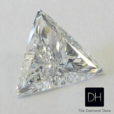 0.32 Ct. Loose Diamond Triangle Shape E SI1 Trillion Pendant Valentine's Day