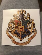 harry potter Vinyl Sticker Transparent Back