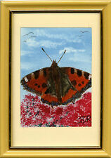 WATERCOLOUR WILDLIFE PRINT OF KING GEORGE BUTTERFLY 4X6 FORMAT