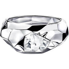 NIB Atelier Swarovski Crystal Jean Paul Gaultier Reverse Bangle Bracelet 5243748