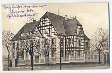 H 278 Krankenhaus Allstedt mit Marke DR 375, Kombination RAR, 1926